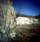 Colour 120 film Pinhole Photograph.