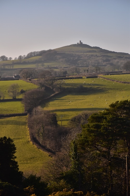 View to Brentor church January 2018