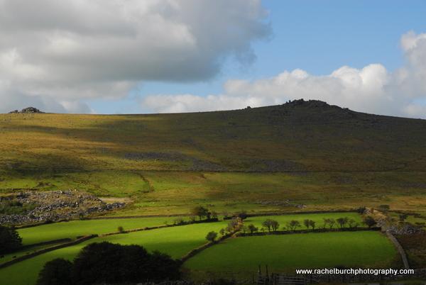 View towards Great Staple Tor Dartmoor