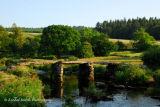 Postbridge Clapper Bridge Dartmoor