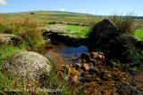 Stream near Fourwinds Dartmoor October 2013