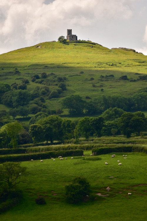 Changing light, Brentor June 2017.