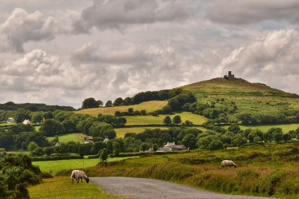 View to Brentor July 2017
