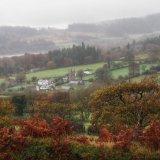 View of Sheepstor village, November 2015.