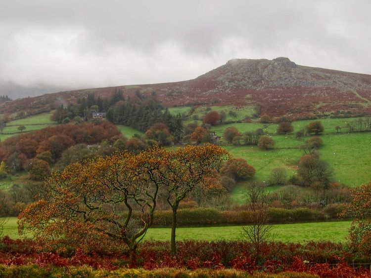 Sheepstor, Dartmoor, November 2015.