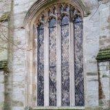 Window in Tavistock church, January 2016.