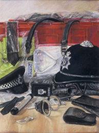 Police equipment [pastel]