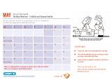 Internal Communications calendar
