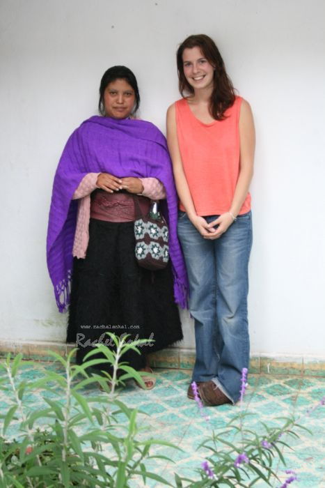 Myself and Juana, one of the key members of staff at the project