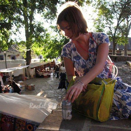 Rachel at work in San Cristobal de las Casas