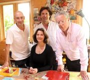 Steve, Ian, Philip and Ruth