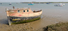 Orford Ness Abandoned Boat