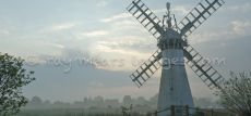 Thurne Drainage Mill at Daybreak