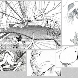 Production Design Visuals & Storyboard Frames, Captain Zep - Space Detective