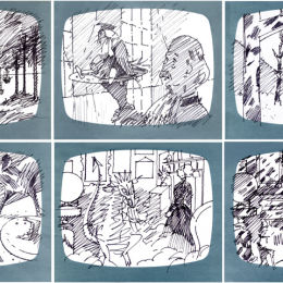 Fortunatus Rex, Production Storyboard, Sample Frames