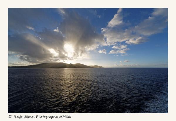 Martinique at sight