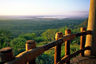 Safari view, Tanzania