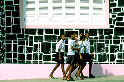 School girls, Tarrafel