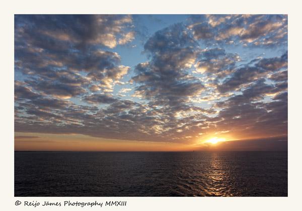 Sun rise near Santo Domingo