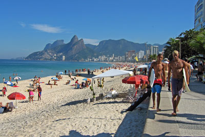 Surfing Ipanema