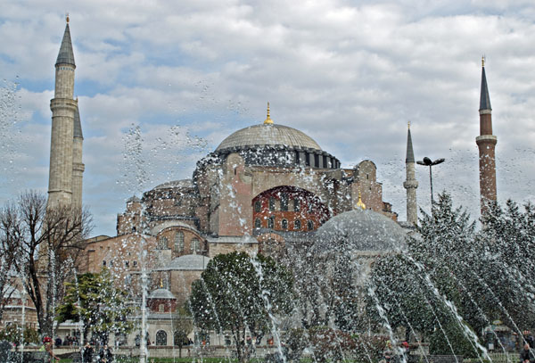 By the Hagia Sophia, Istanbul