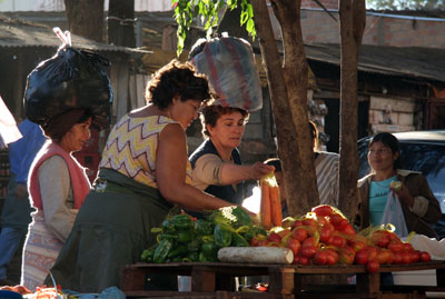 Women in market place