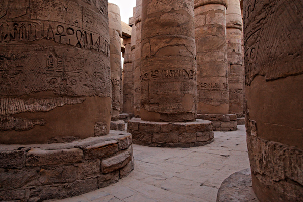 Columns, Karnak temple, Luxor