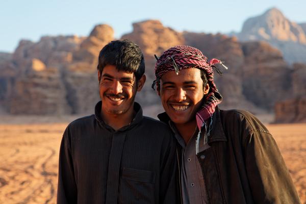 Bedouins, Wadi Rum