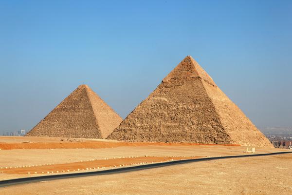 Pyramides, Giza, Egypt