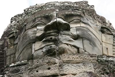 Bodhisattva face, Bayon Temple