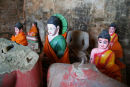 Buddha images, Angkor