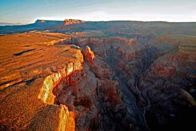 At sunrise, Grand Canyon