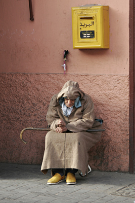 Contemplation, Marrakech