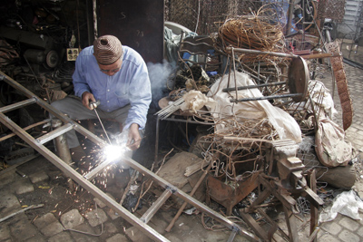 Welder, Marrakech