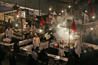 Cooks, Marrakech
