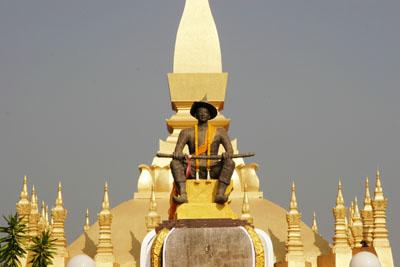 Statue, Vientiane
