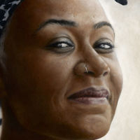 'Turning Point'. Emeli Sandé. Oil on wood panel.
