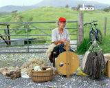 Hilda Spinning, Scottish Highlands