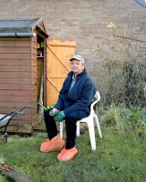 Malcolm, Walsacre Allotments, Wiltshire