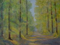 Golden October Light, Forêt de Blois