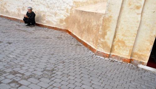 Alone in Marrakech