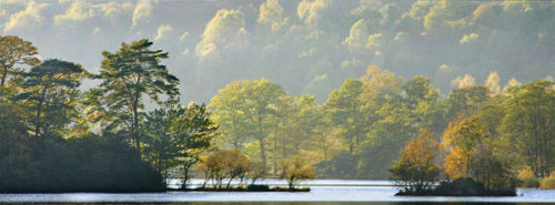 Evening at Rydal Water
