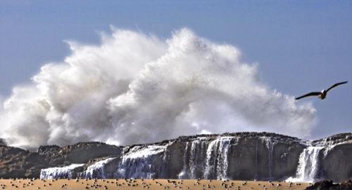 Stormy Sea, Esaouira