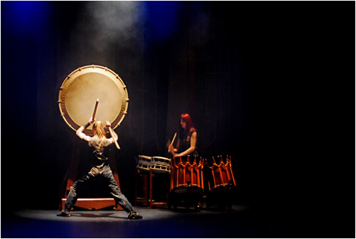 Mugenkyo: the big drum