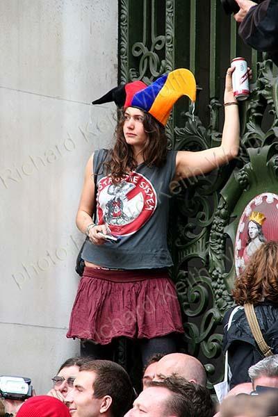 Demonstration jester