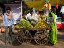Oranges 100 Rupees a kilo, Karauli Market