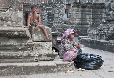 Ankor Wat Recycling