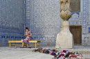 Knitting in the Bokhara Madrassa