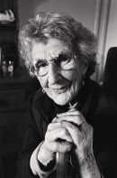 Molly Gallagher at 99 years. Ardara, 2005.