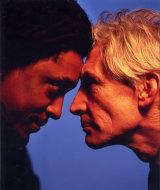 Bernard Fowler & Charlie Watts